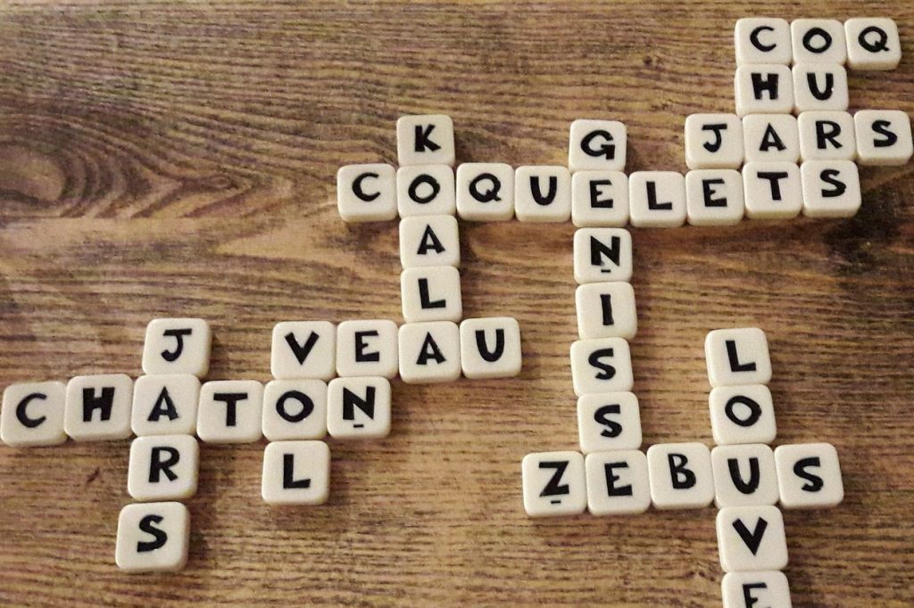 Scrabble Frans_Frans leren Spelen maar