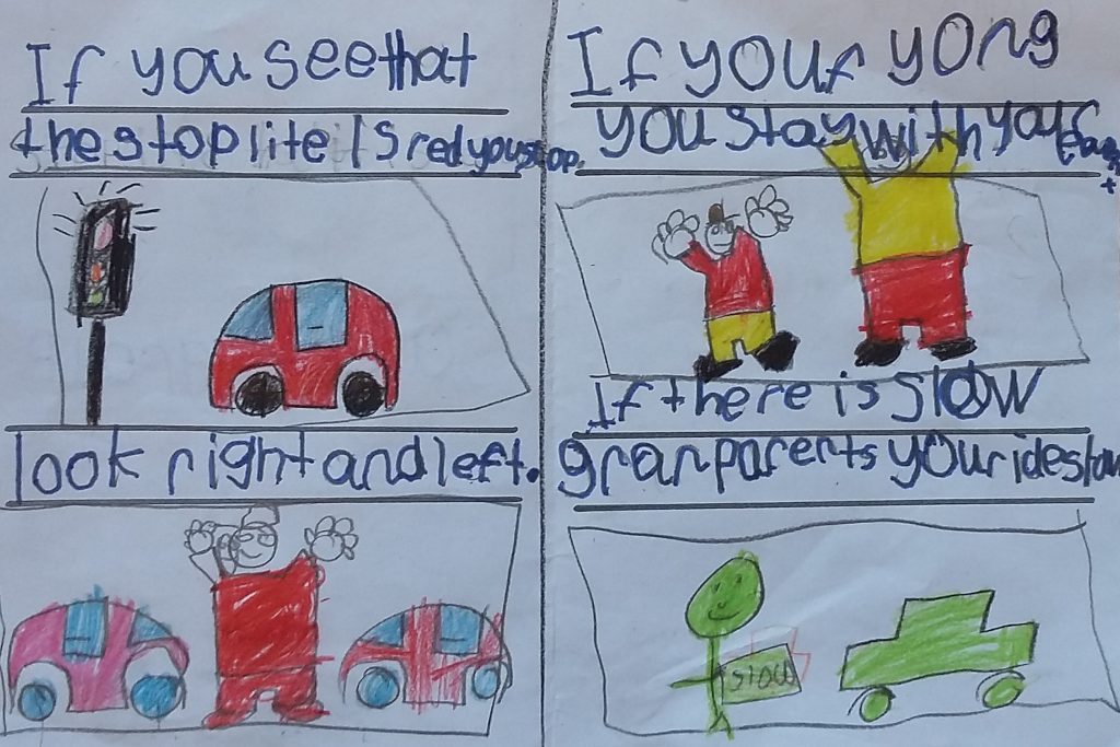 Traffic safety rules_Get your chidlren to spell, read and write