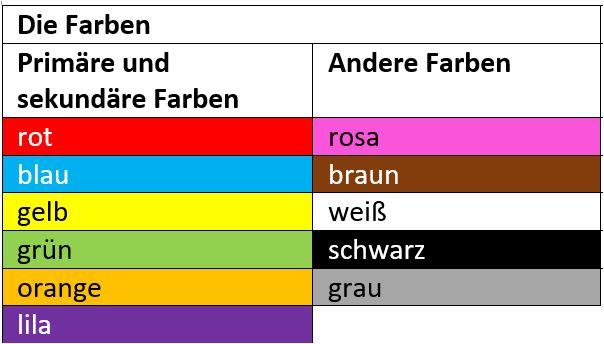 Duits_Farben