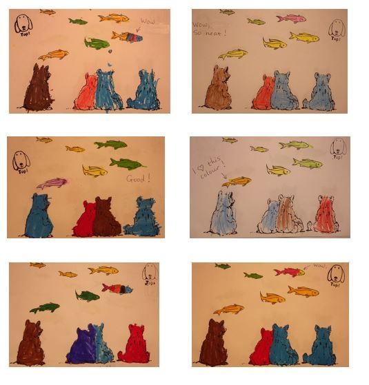Wassenaar_Brown Bear_6 kleurplaten